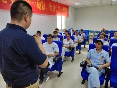 青岛安宁心理医院开展接待礼仪培训提升文明服务水平
